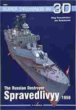 Imagen de The Russian Destroyer Spravedlivyy (Super Drawings in 3D)