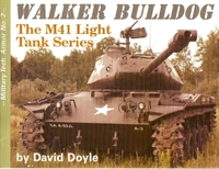 "Imagen de Military tech: Armor Nº002 ""Walker Bulldog. The M41 light tank series"""