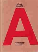 """Imagen de Joan Brossa. """"Catálogo razonado de poesía visual 1941-1970"""""""