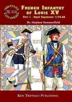 Imagen de Military Colours Nº010. French Infantry of Louis XV. Part 1 - Royal Regiments 1720-66