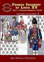Imagen de Military Colours Nº011, French Infantry of Louis XV. Part 2 - Provincial Regiments 1720-66
