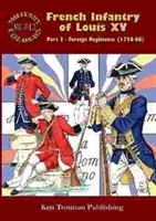 Imagen de Military Colours Nº013, French Infantry of Louis XV. Part 3 - Foreign Regiments 1720-66